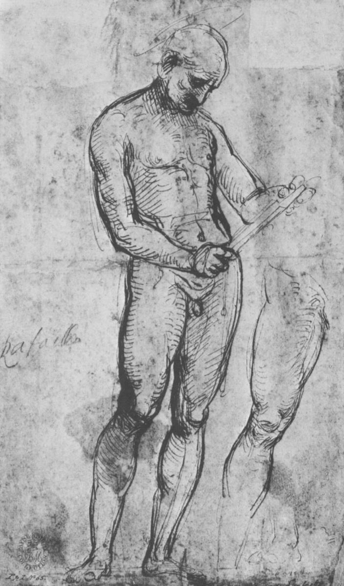 Рафаэль Санти. Обнаженный