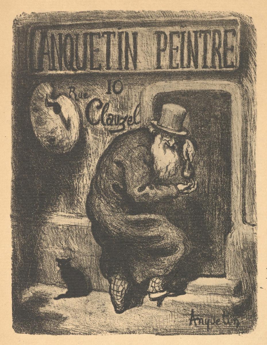 Луи Анкетен. Anquetin Trade Card
