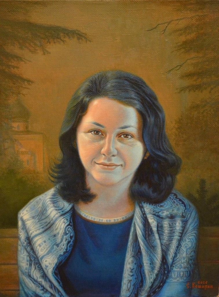 Stepan Vladimirovich Kashirin. Portrait Of Anna Muravyova