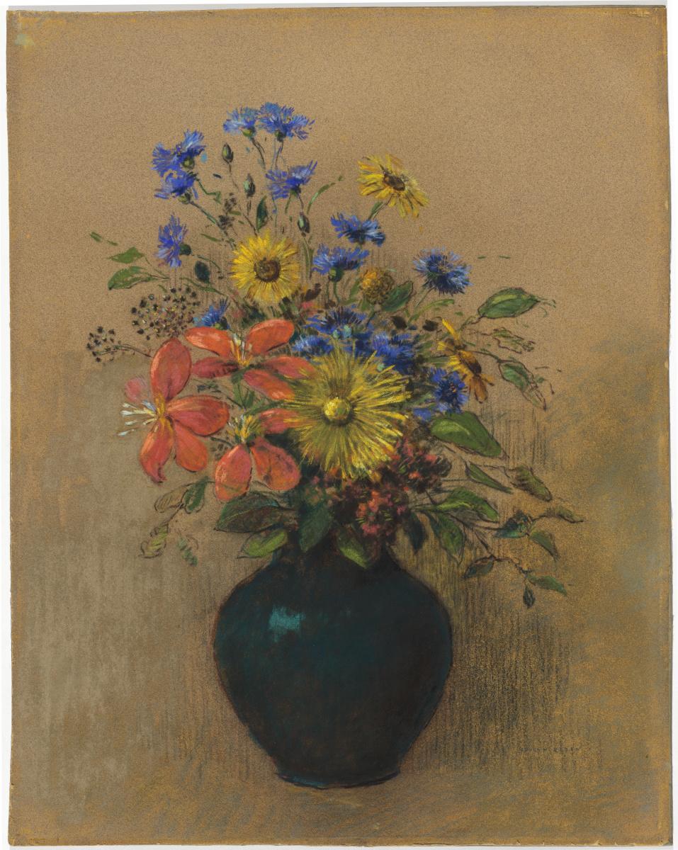 Одилон Редон. Полевые цветы