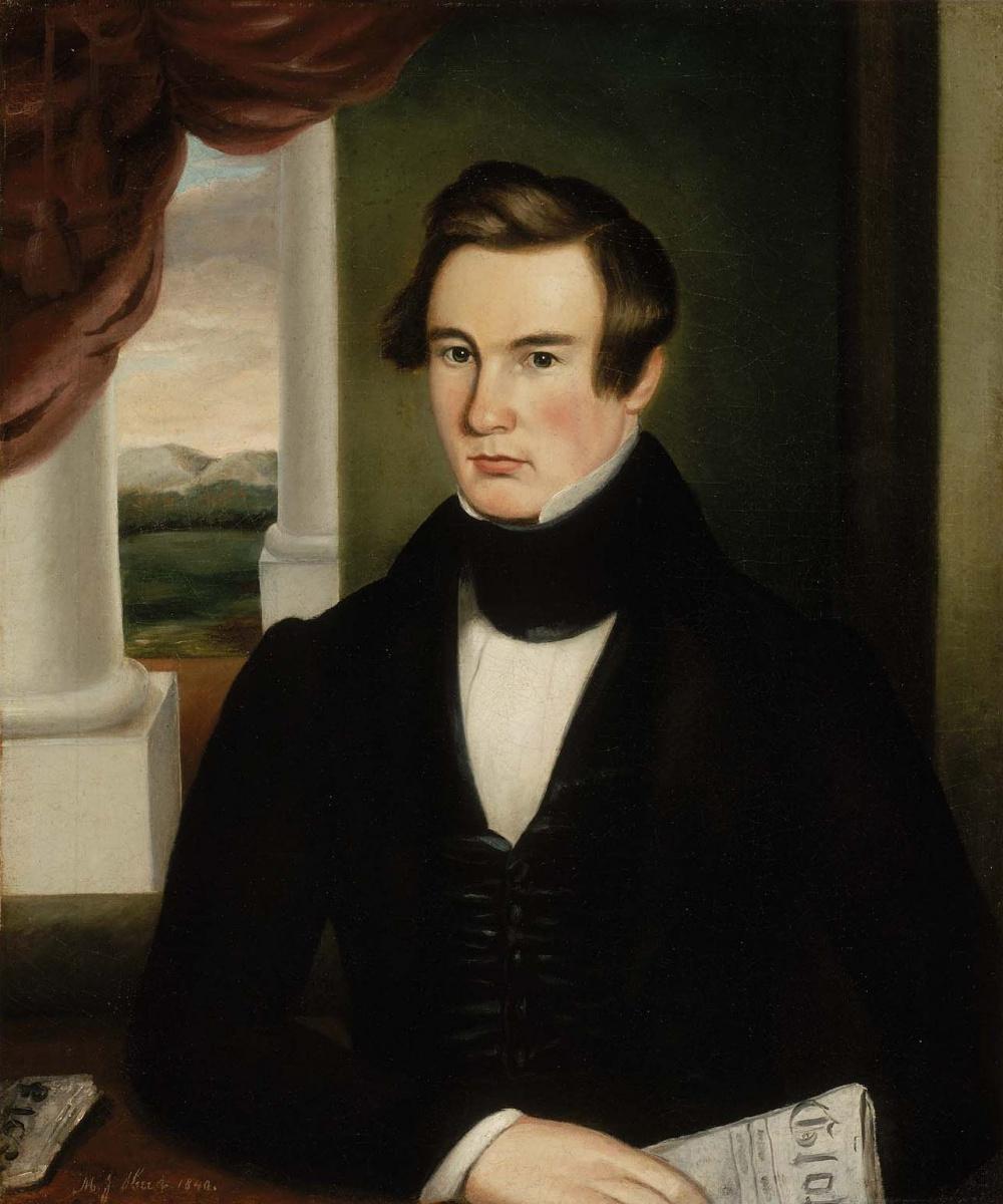 Martin Johnson Head. Portrait of a Man