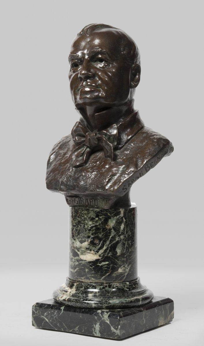 Sarah Bernard. Bust of Emile de Girardin