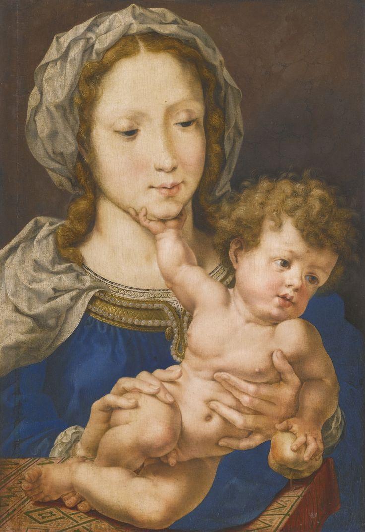 Мабюз. Дева с младенцем