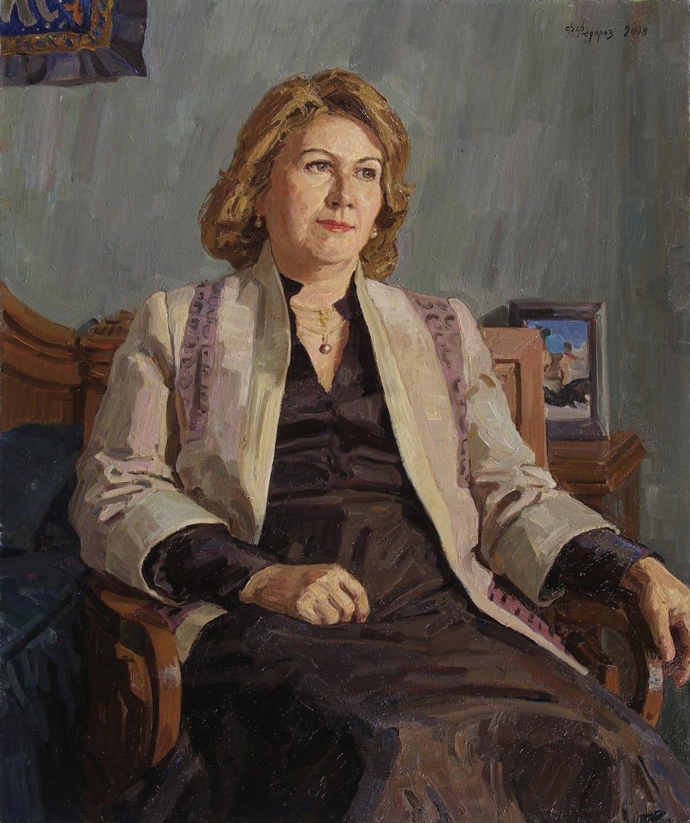 Фёдор Борисович Фёдоров. Portrait of Associate Professor Natalia Nikolaevna Tsytovich