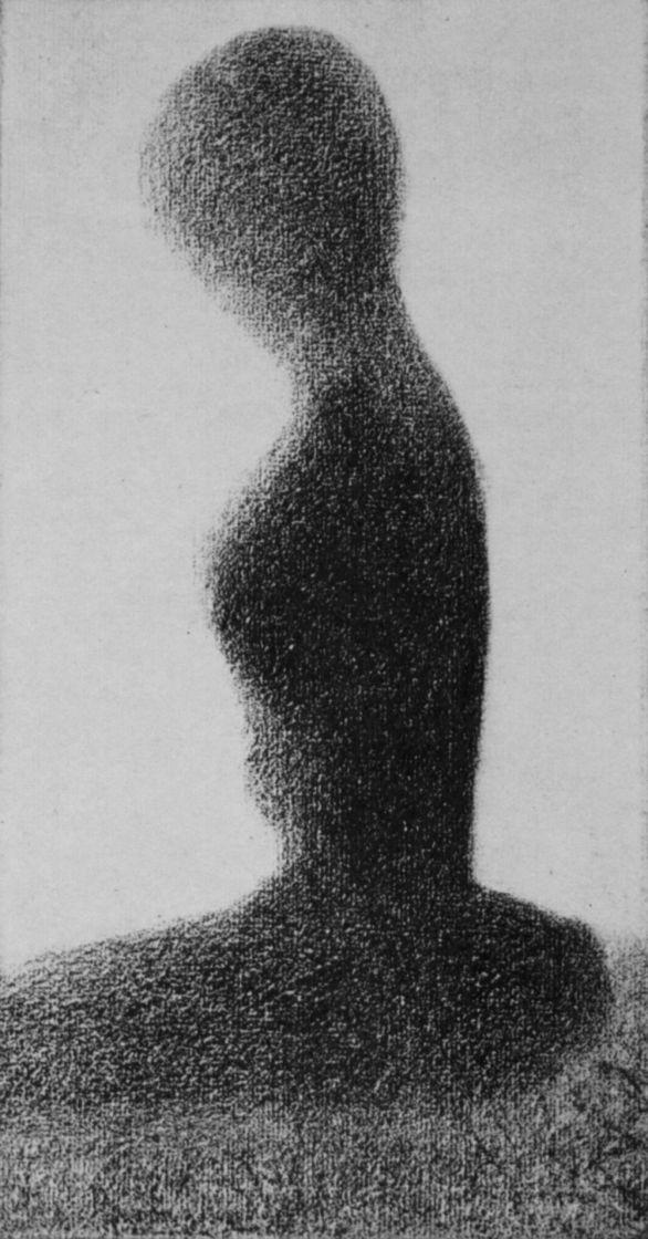 Жорж Сёра. Сидящая девушка