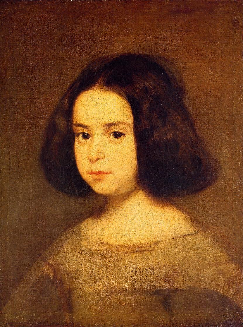 Диего Веласкес. Портрет девочки