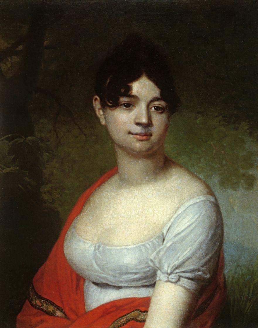 Владимир Лукич Боровиковский. Женский портрет