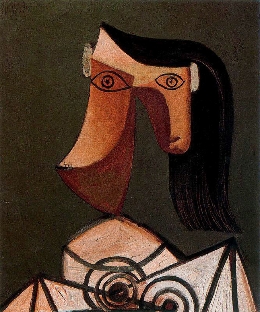 Пабло Пикассо. Голова женщины (Дора Маар)
