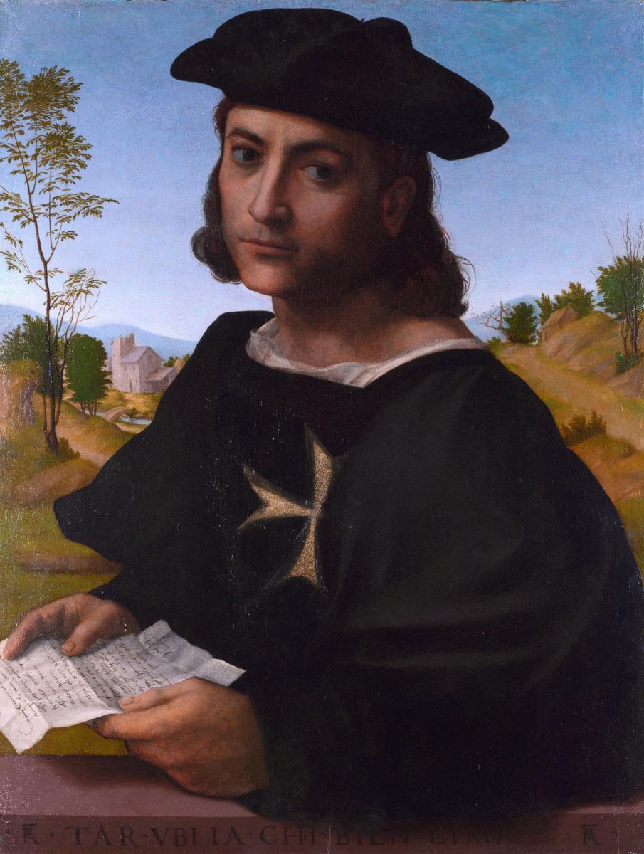 Франческо Франчабиджо. Портрет рыцаря Родос
