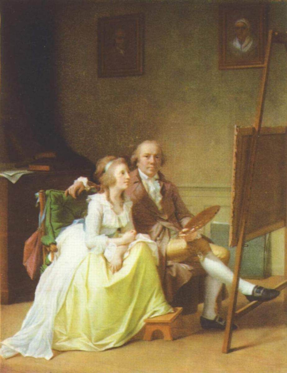 Йенс Юль. Автопортрет с женой