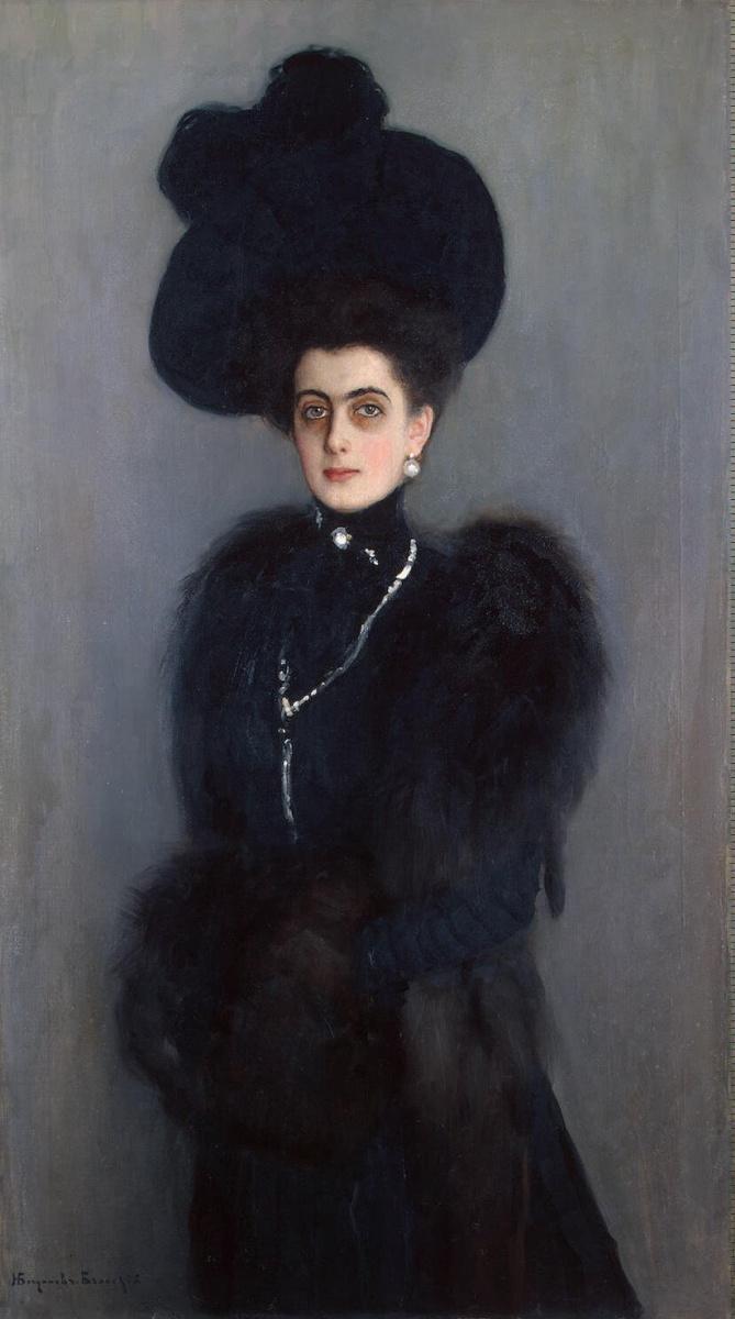 Николай Петрович Богданов-Бельский. Портрет Абамелек-Лазаревой