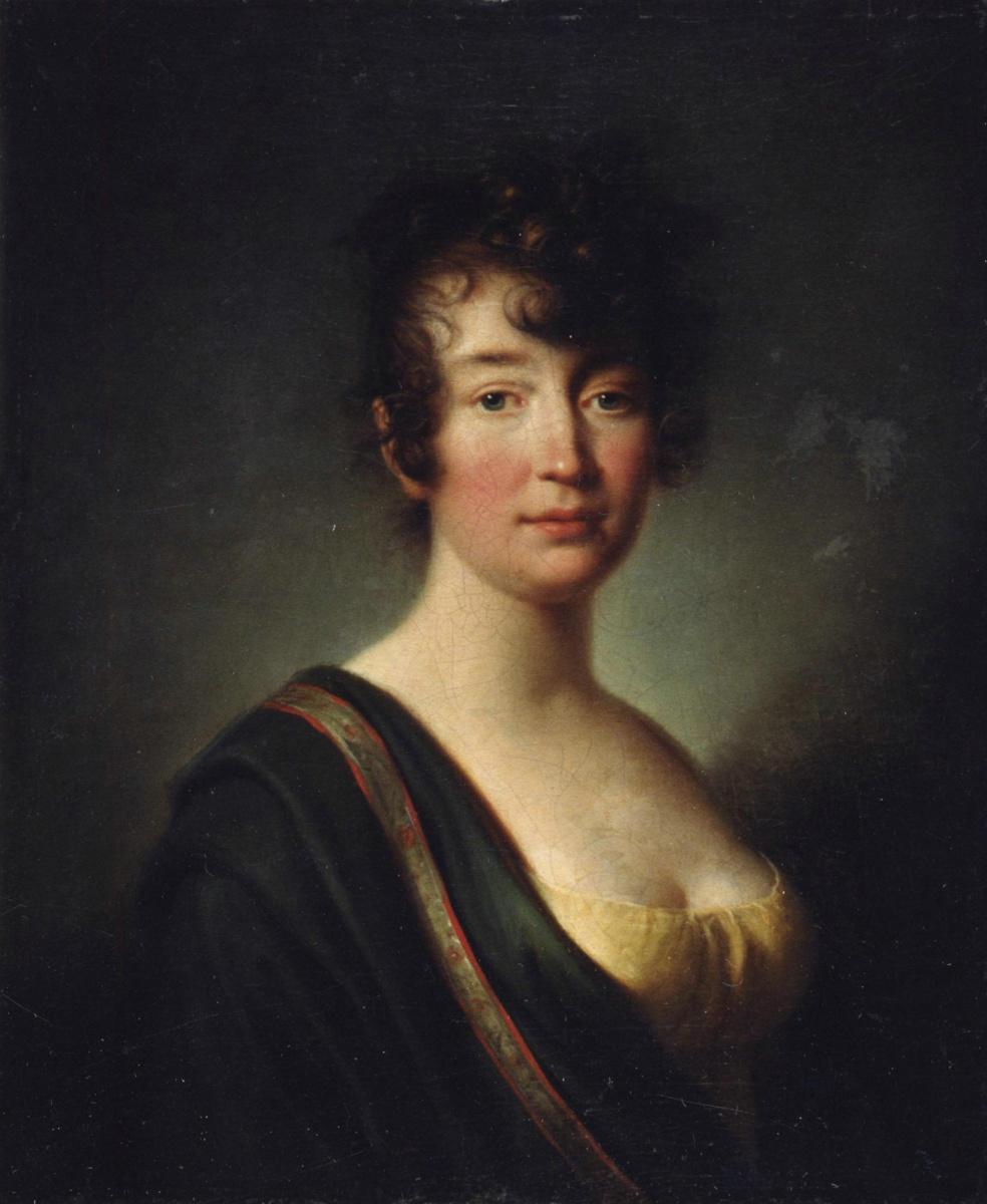 Giovanni Battista Ortolani Damon. Portrait of an unknown.