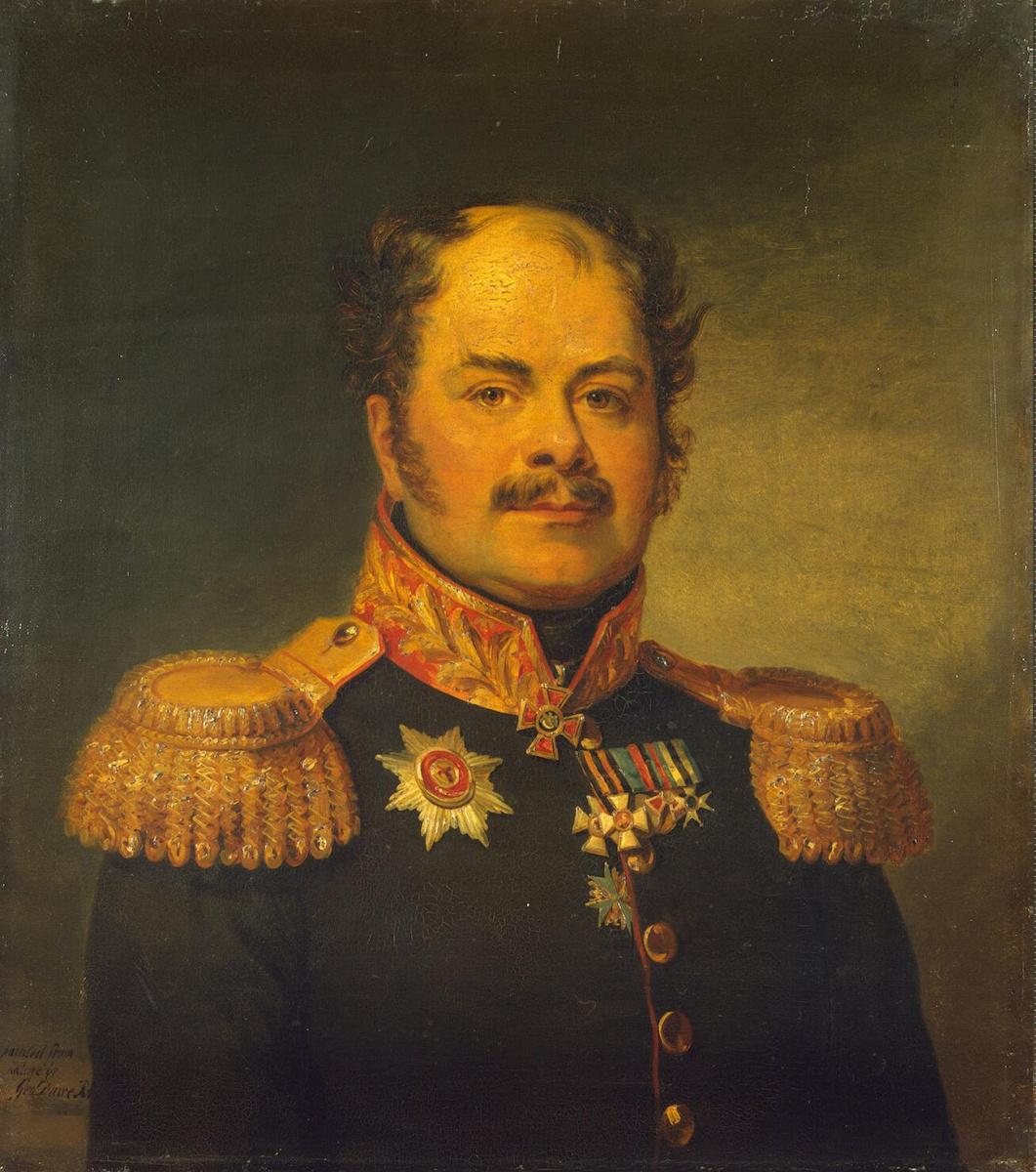 Джордж Доу. Портрет Александра Сергеевича Шульгина