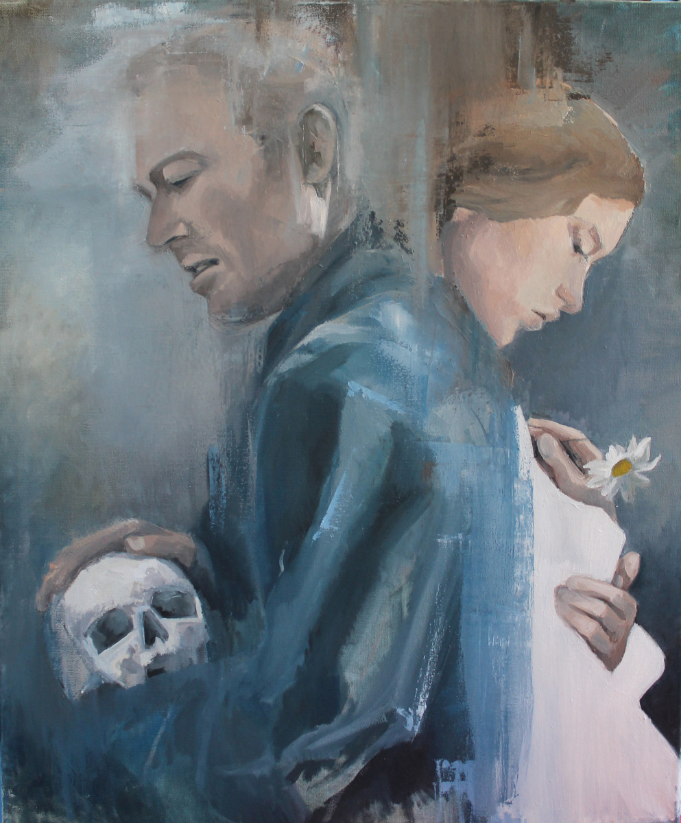 Alessia Lisenko. Hamlet and Ophelia