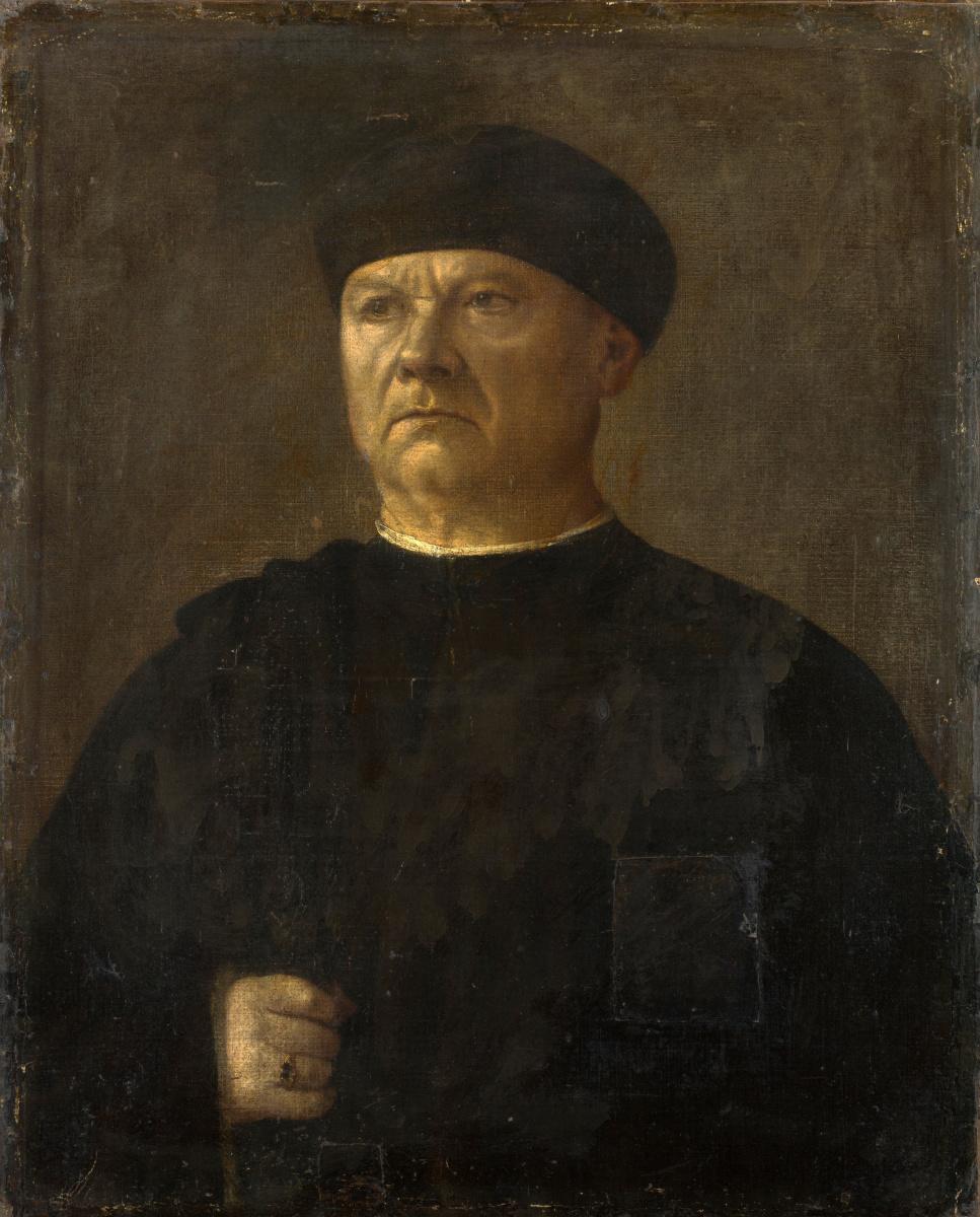 Итальянский. Портрет старика