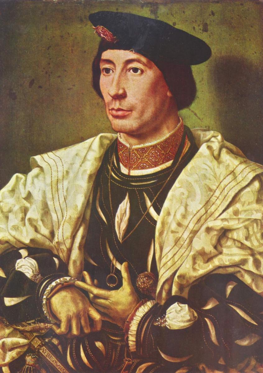 Ян Госсарт. Портрет знатного бургундца