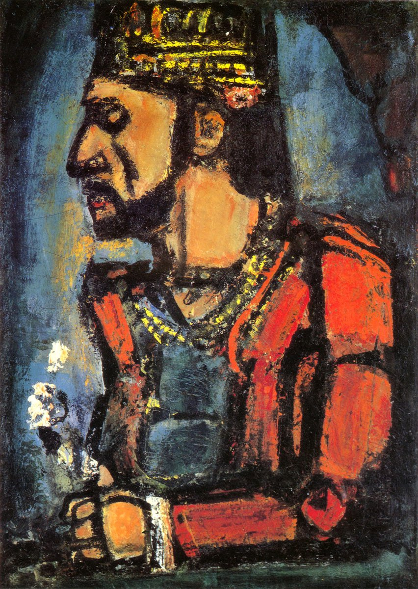 Henri Manguin. Portrait of a man in profile