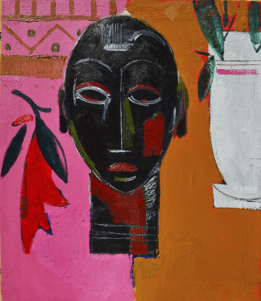 Alexandr Petelin. The sculpture: self portrait