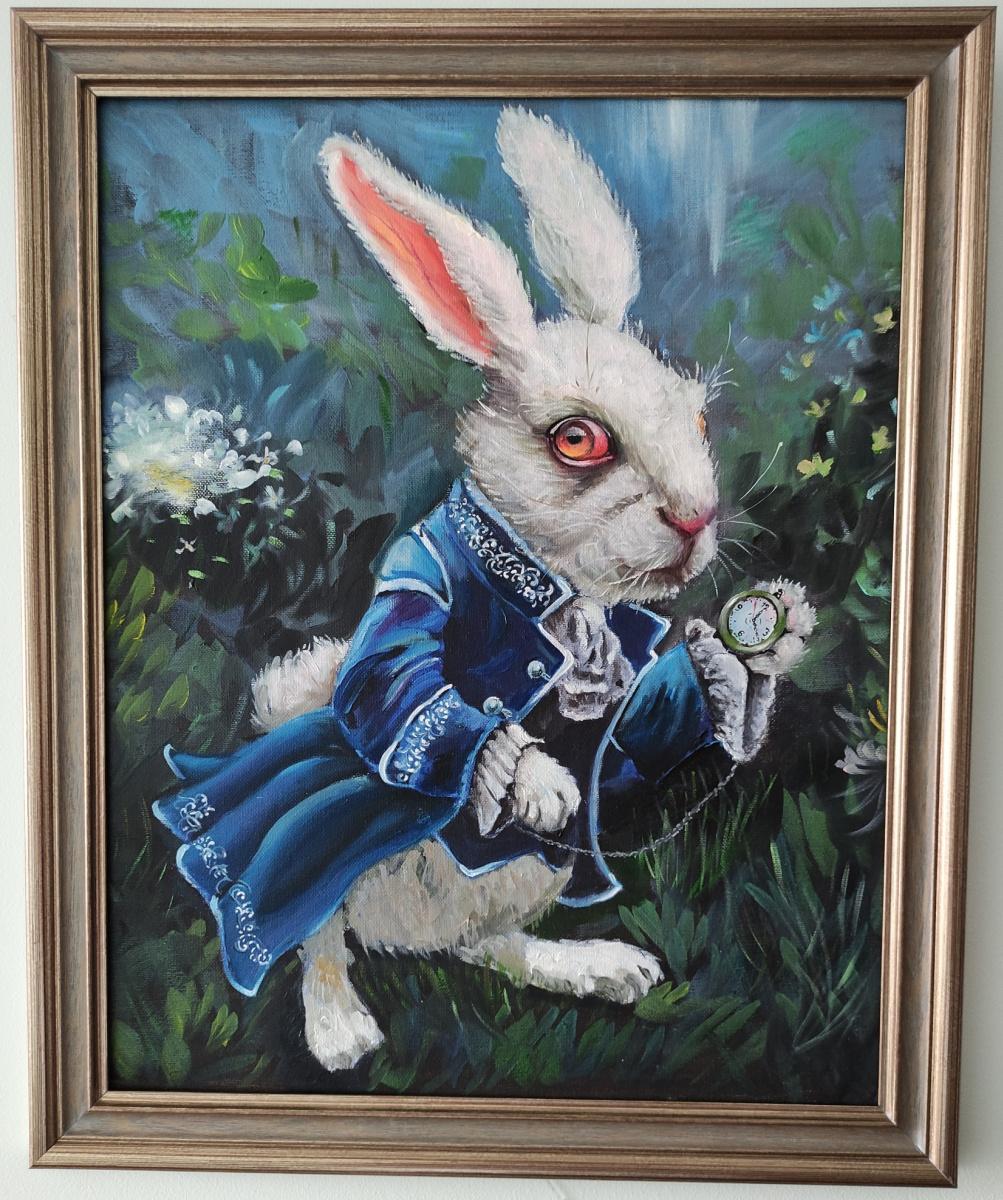 Unknown artist. White Rabbit