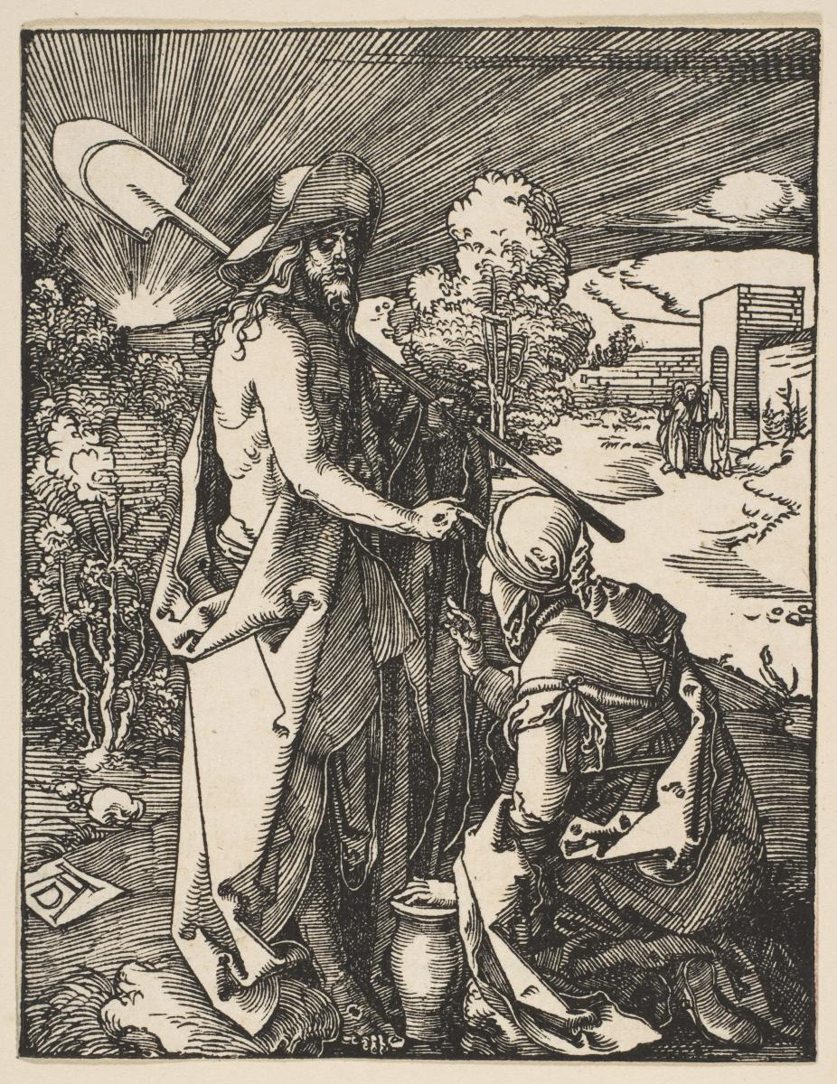 Альбрехт Дюрер. Явление Христа Марии Магдалине