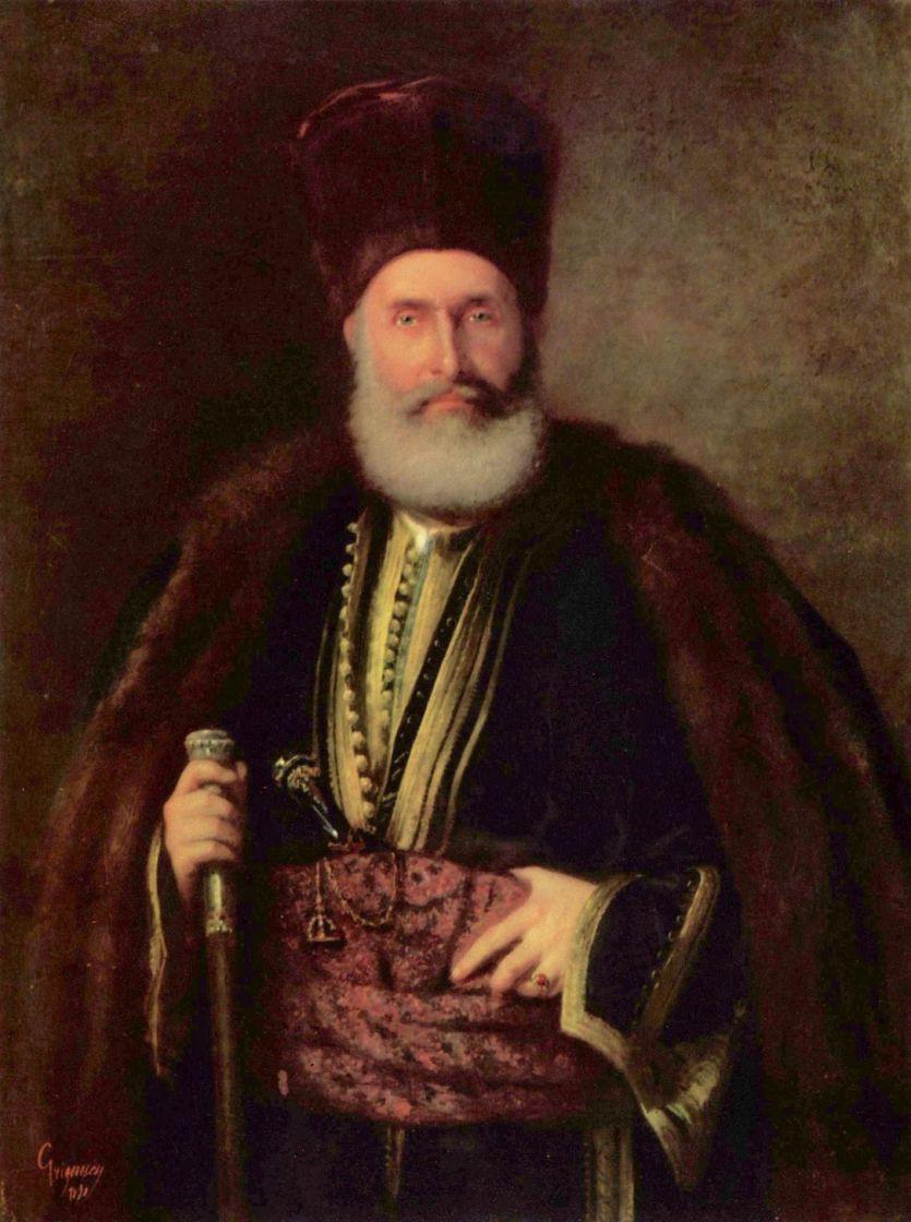 Николае Григореску. Портрет Настурела Хереску