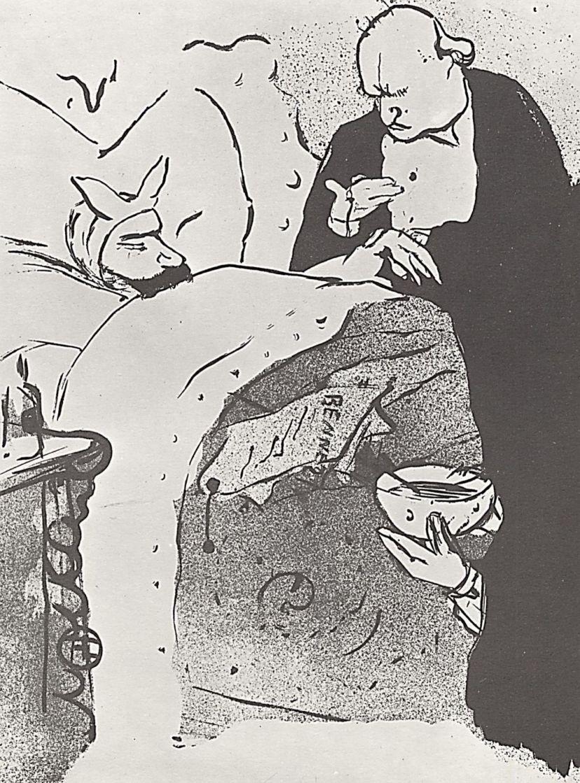 Анри де Тулуз-Лотрек. Больной Карно