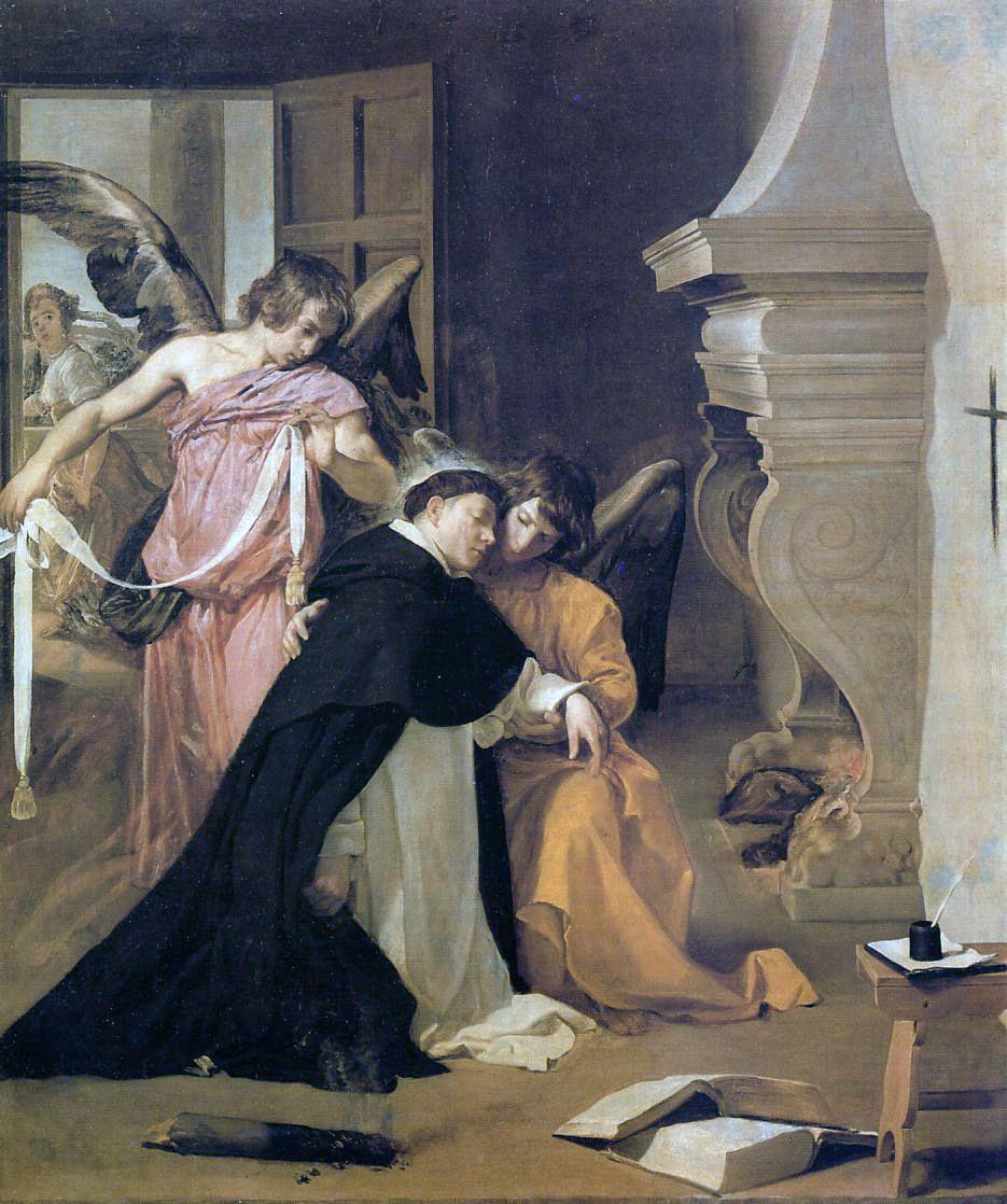 Диего Веласкес. Искушение святого Фомы Аквинского