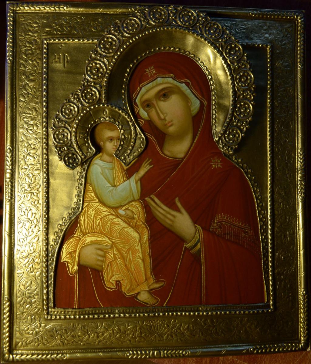 Gennady Viktorovich Babenko. Jerusalem icon of the Mother of God.