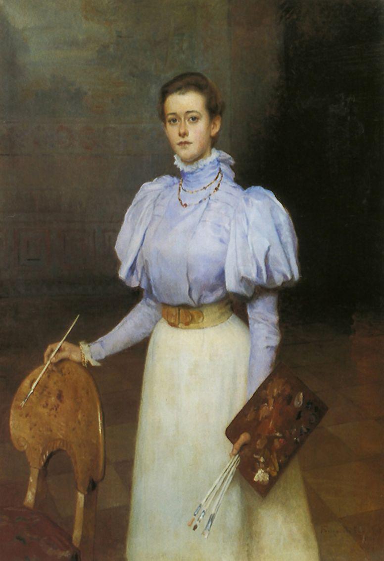 Николай Петрович Богданов-Бельский. Портрет М. С. Шереметевой