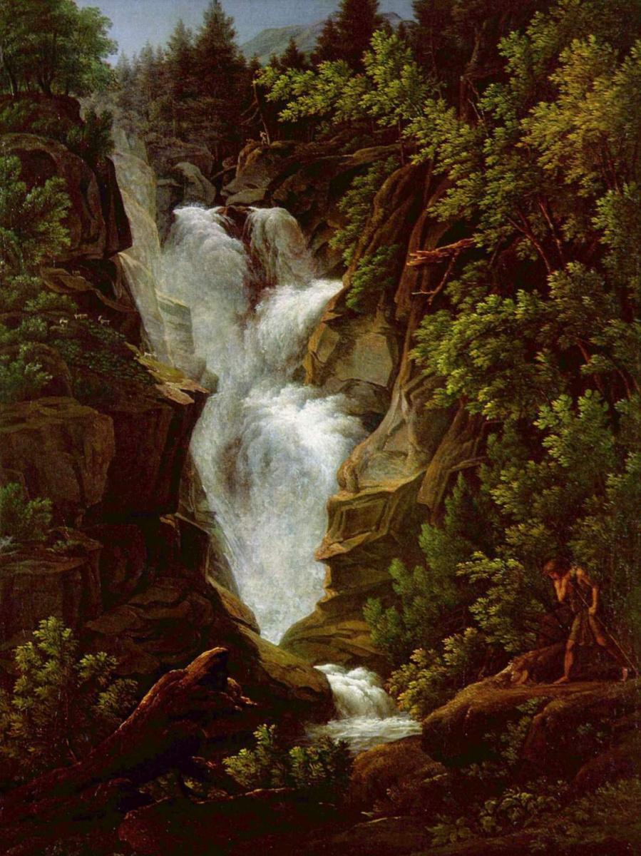 Йозеф Антон Кох. Водопад