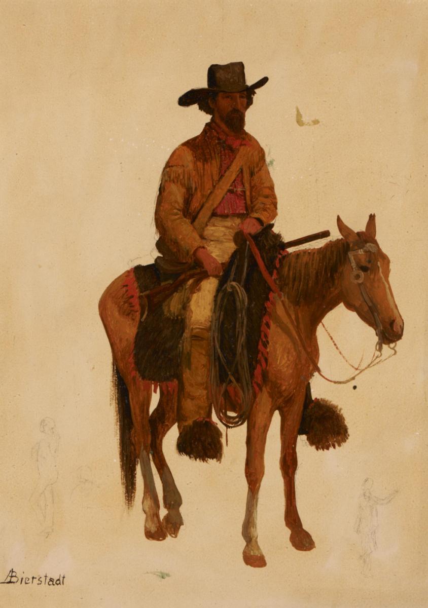 Альберт Бирштадт. Ловец лошадей