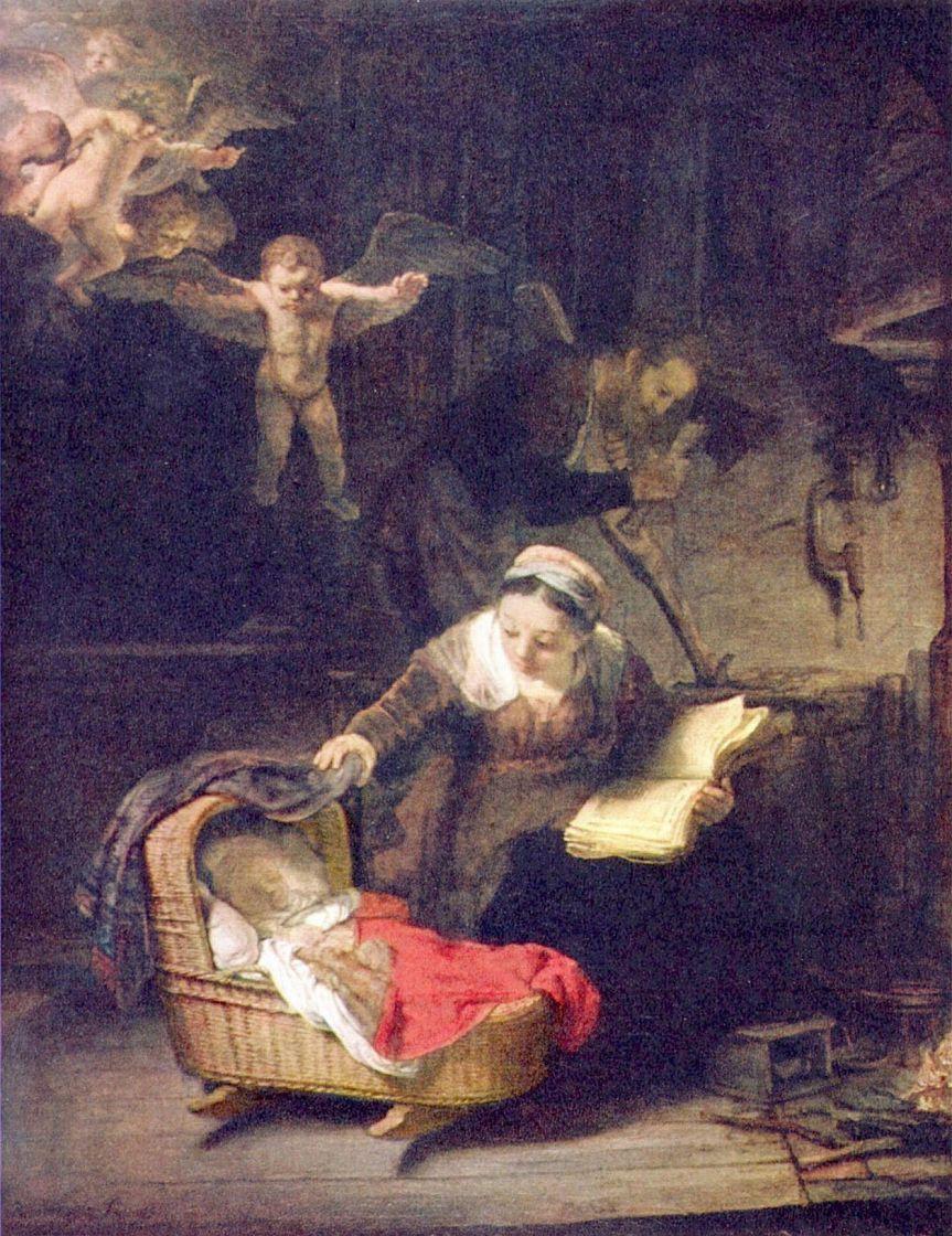 Рембрандт Харменс ван Рейн. Святое семейство