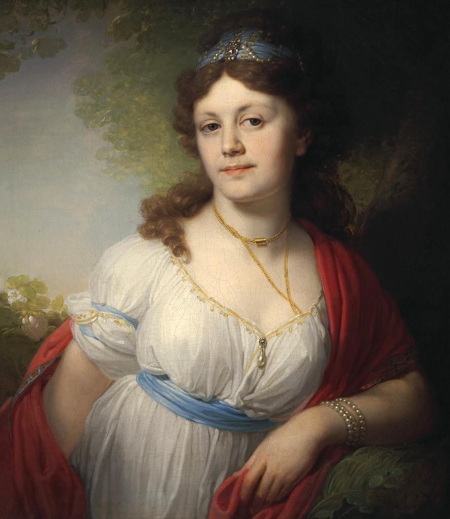Vladimir Lukich Borovikovsky. Portrait of Princess Elizaveta Grigorievna Temkina