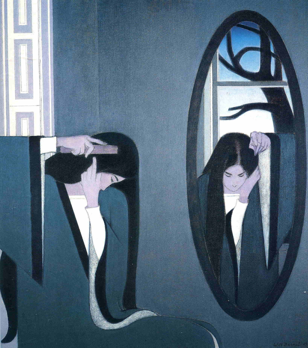 Will Barnet. Reflection