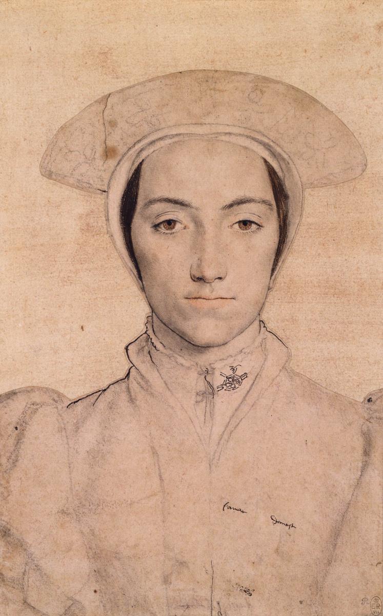 Ганс Гольбейн Младший. Портрет неизвестной женщины