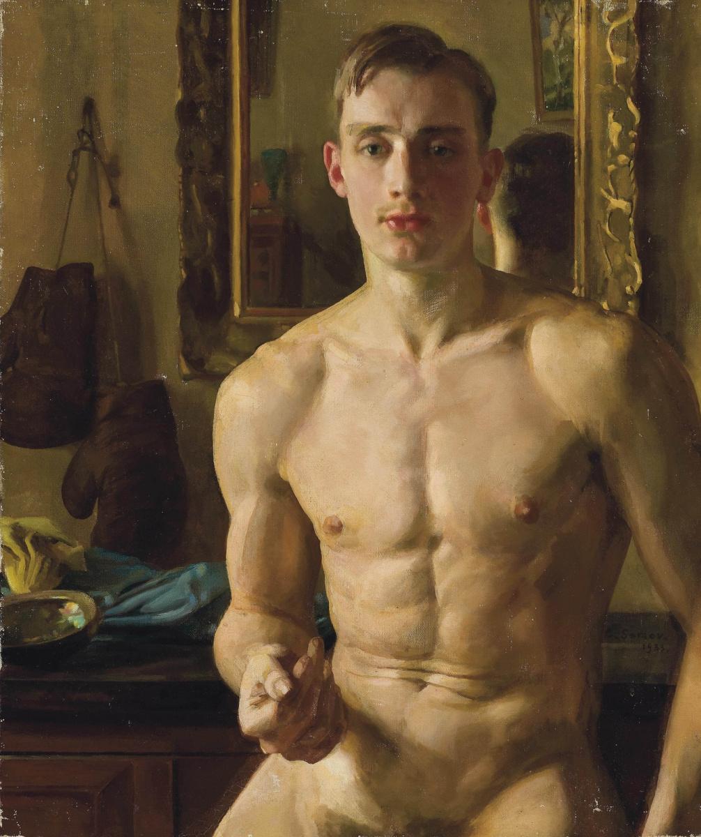 Konstantin Somov. Boxer