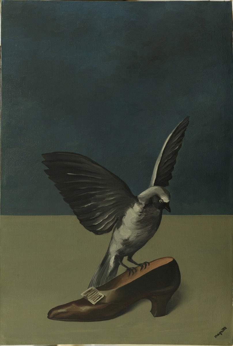 René Magritte. God is not a Saint