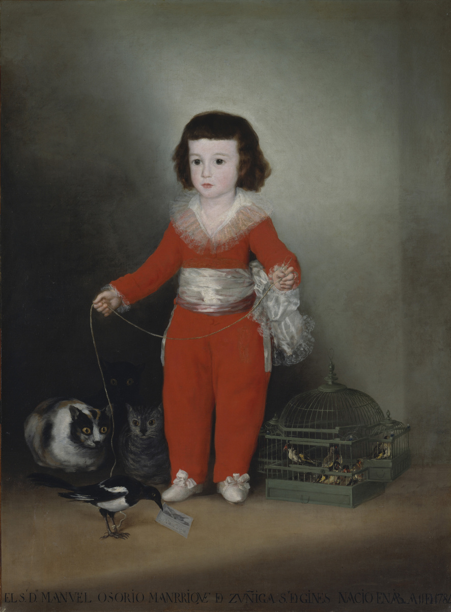 Франсиско Гойя. Дон Мануэль Осорио Манрике де Суньига, ребёнок