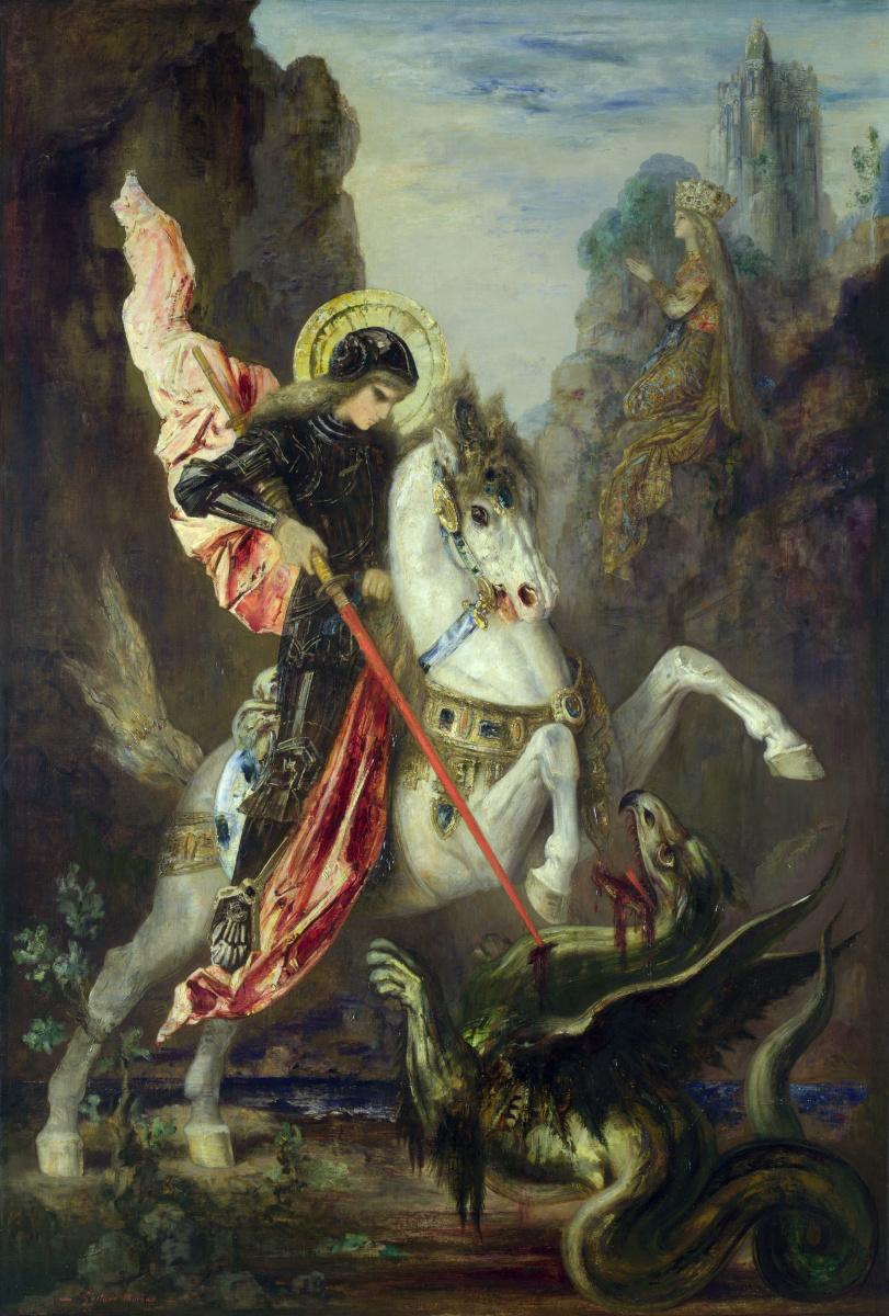 Гюстав Моро. Святой Георгий и дракон