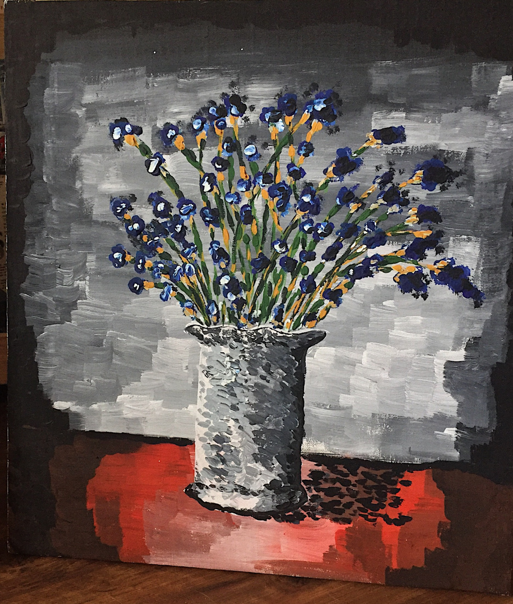 "Andrè Serièr. ""vase with Flowers"""