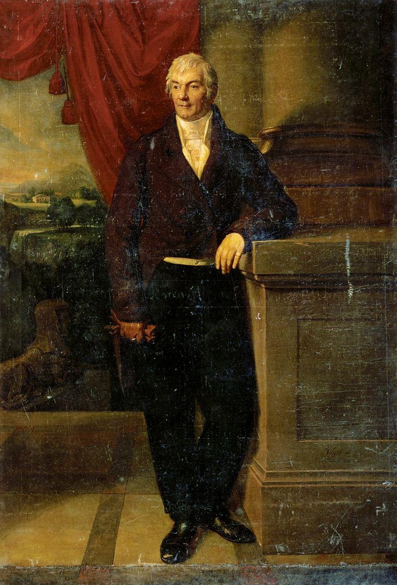 Карл Христиан Фогель фон Фогельштайн. Портрет графа В. Г. Орлова