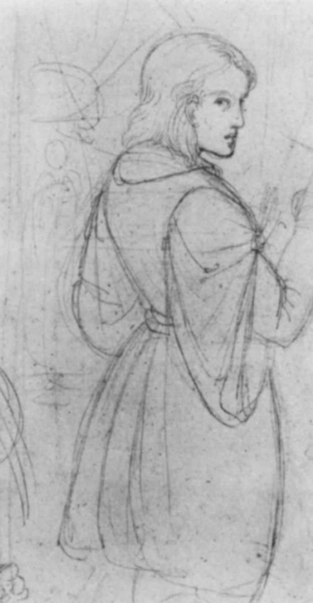Иоанн Евангелист Шеффер фон Леонхардсхоф. Автопортрет перед мольбертом