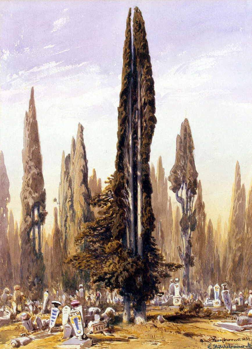 Эдуард Хильдебрандт. Босфорское кладбище