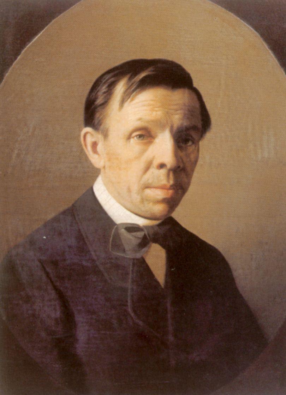 Alexey Mikhailovich Kolesov. Portrait of the artist Sergei Konstantinovich Zaryanko