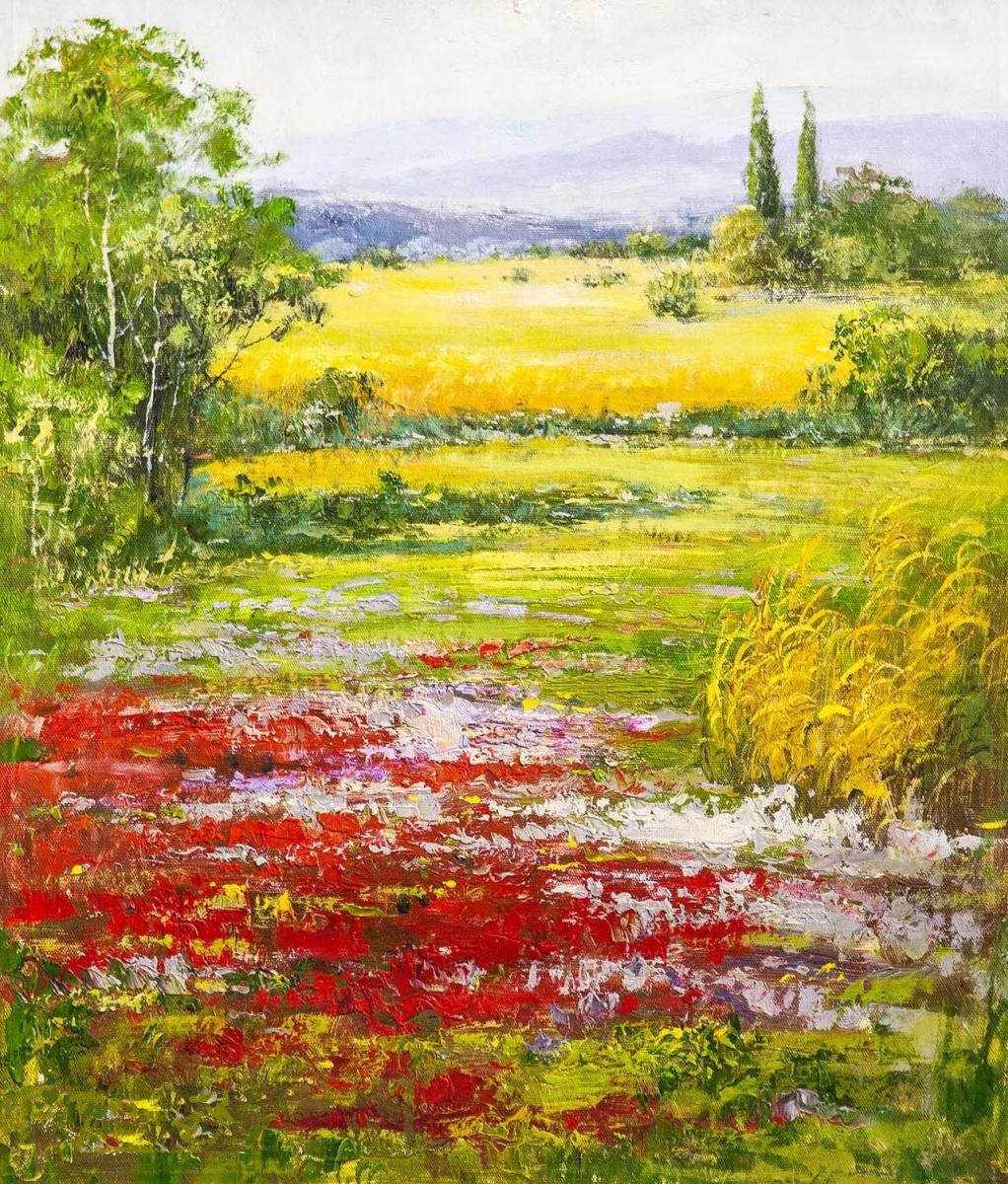 Andrey Sharabarin. Colorful summer