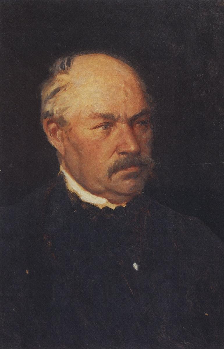 Архип Иванович Куинджи. Портрет неизвестного
