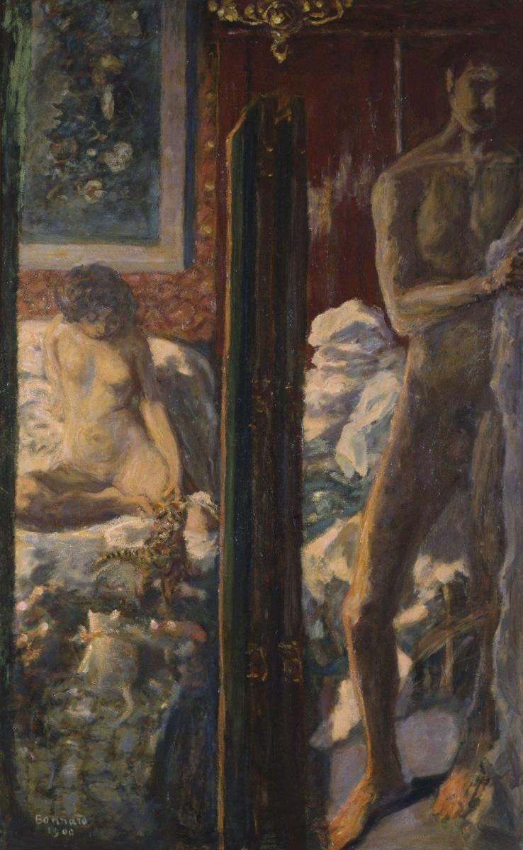 Pierre Bonnard. A man and a woman