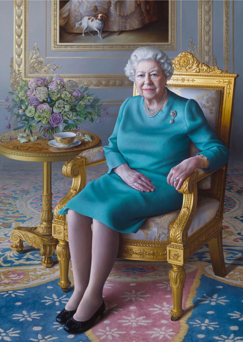 Мириам Эскофет. Её Величество королева Елизавета II