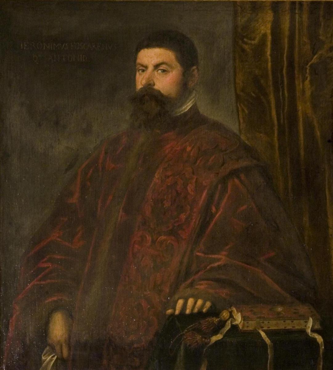 Якопо (Робусти) Тинторетто. Портрет Джеронимо Фоскарини, прокуратора св. Марка