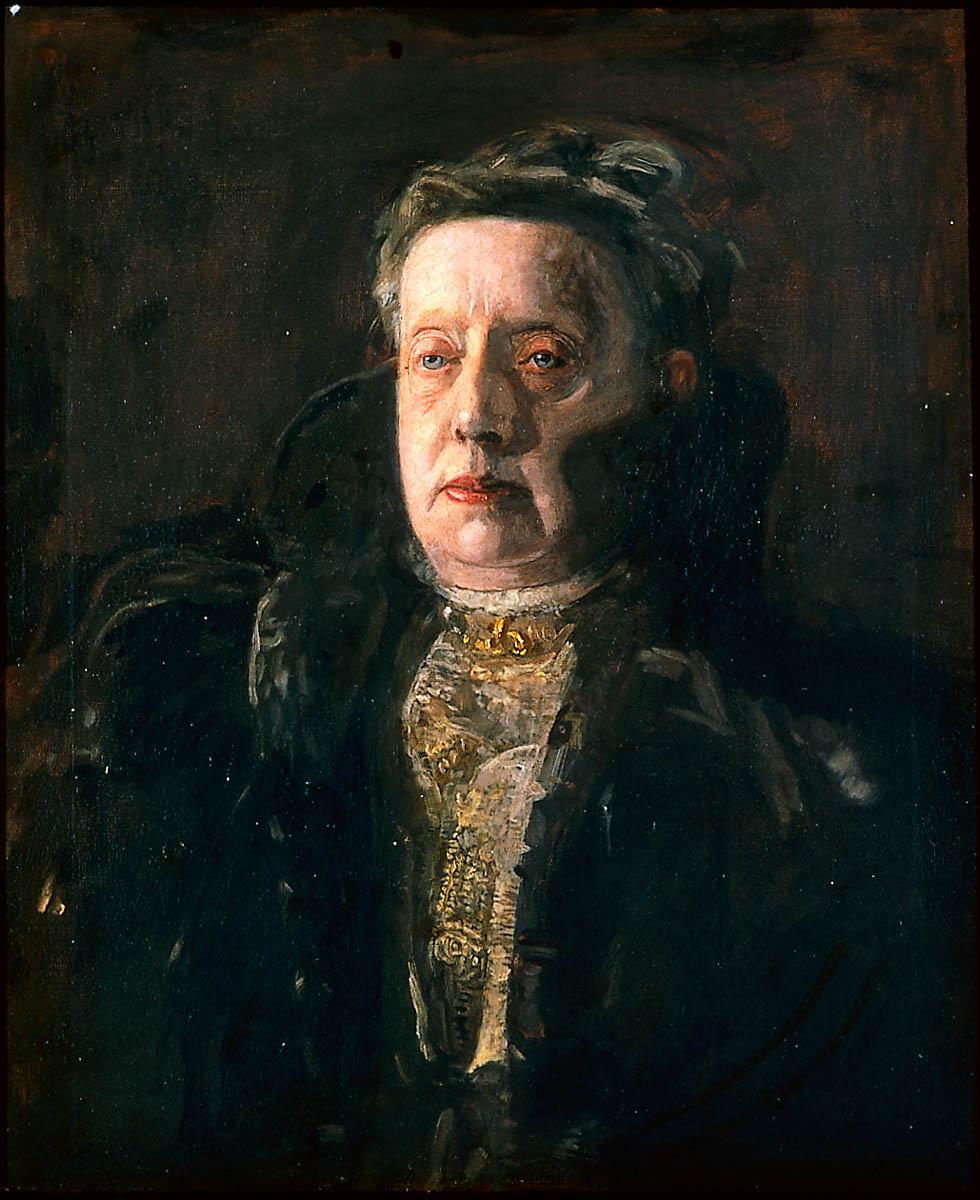 Thomas Eakins. Mrs. Gilbert L. Parker